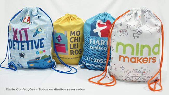 3a5b4f49d Mochilas Saco Promocional | Fábrica de Mochilas Saco Personalizadas