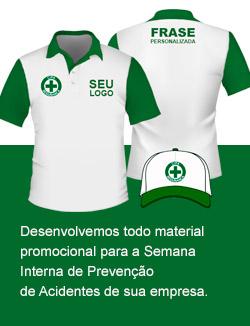 9432a1fec0 camisas modelo polo personalizadas bonés bordados UNIFORMES CIPA ·  Uniformes para semana interna de prevenção a acidentes